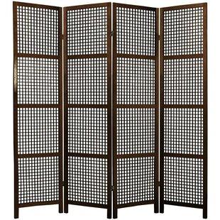 Stoehr Shoji 4 Panel Room Divider