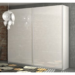 Unico 2 Door Sliding Wardrobe By Ebern Designs