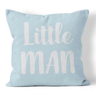 Little Man Nursery Throw Pillow