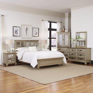 Erica Platform 5 Piece Bedroom Set