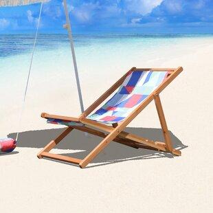 Reidy Cabana Reclining Beach Chair by Brayden Studio