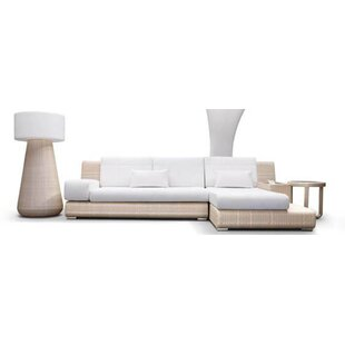 Sumba Sectional Sunbrella Seating Group by 100 Essentials Best