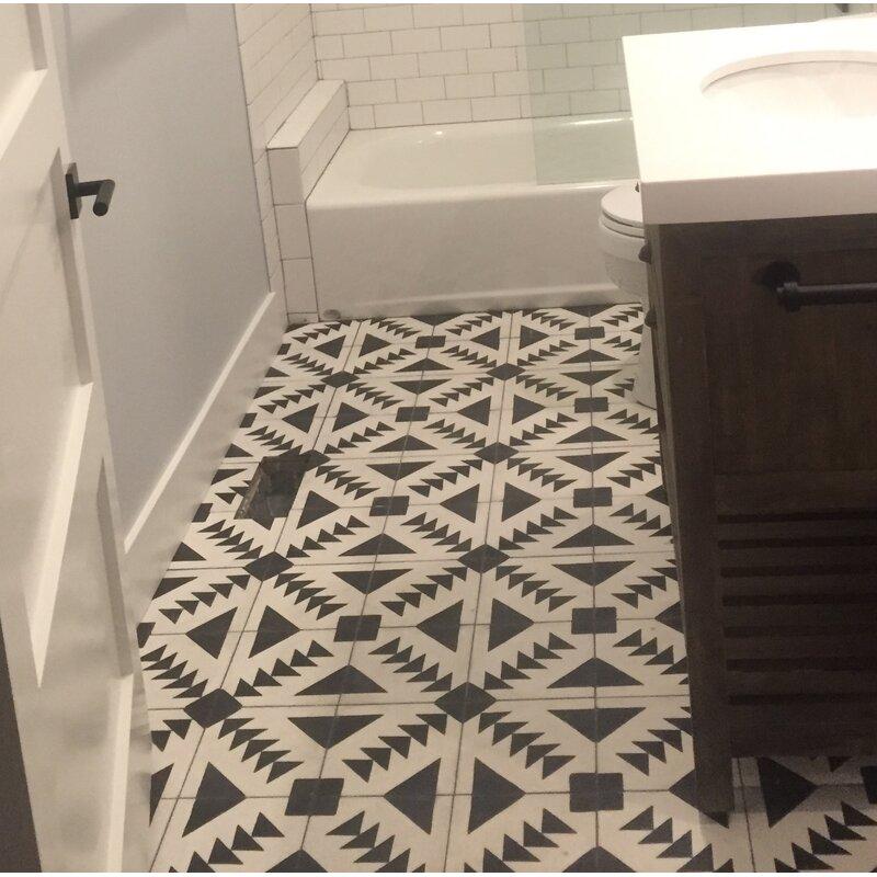 Tadla 8 X Handmade Cement Tile In