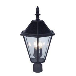 Darby Home Co Crisler Solar 3-Light LED Lantern Head