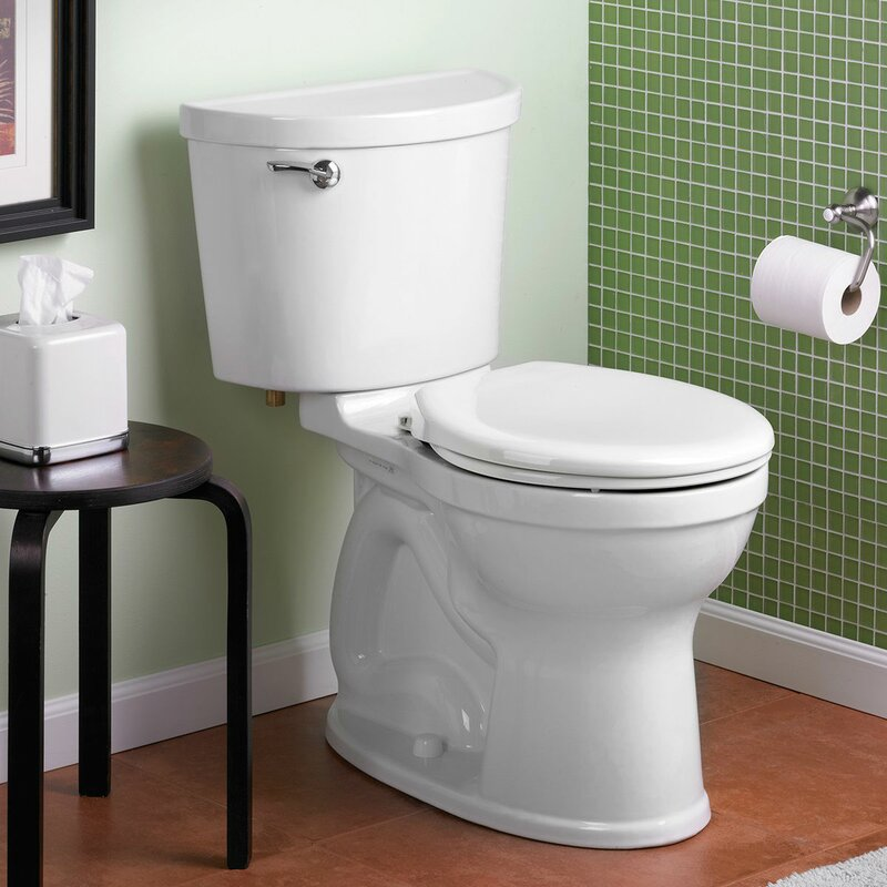 American Standard Champion Pro 1.6 GPF Round Two-Piece Toilet (Seat Not Included)