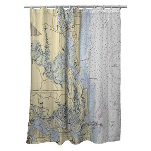 Ellisburg Amelia Island, FL Single Shower Curtain