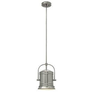 Breakwater Bay Warfield 1-Light Bell Pendant
