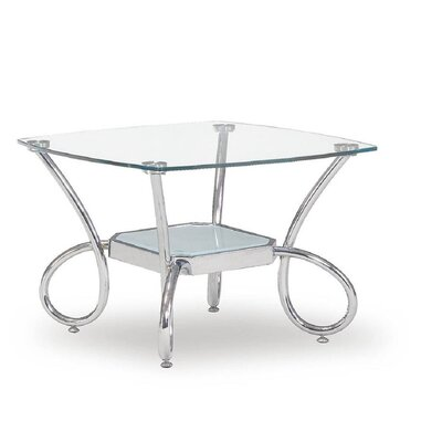 Global Furniture T559 Silver End Table Decor+