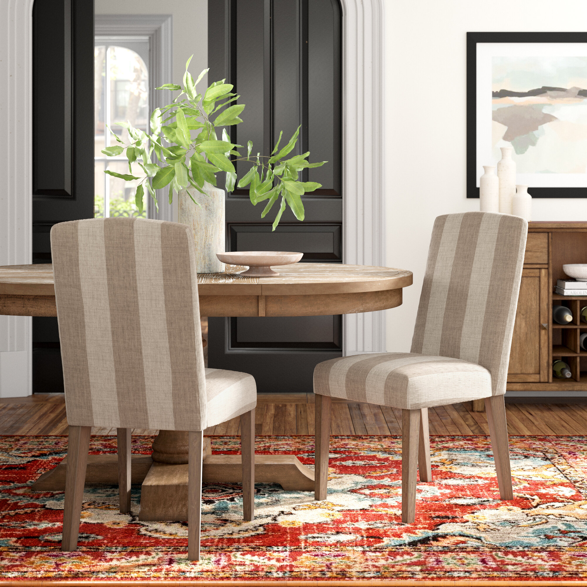 Elisa Upholstered Dining Chair Reviews Joss Main