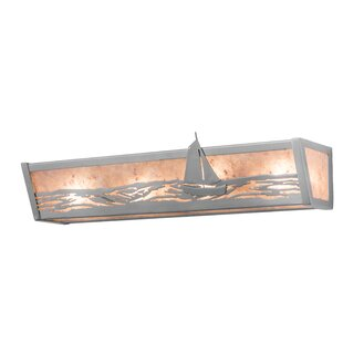 Meyda Tiffany Sailboat 4-Light Bath Bar