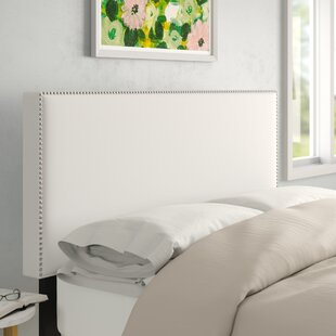 Nail Button Border Upholstered Panel Headboard by Wayfair Custom Upholstery™