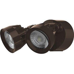 Nuvo Lighting 24-Watt LED Outdoor Security Flood Light