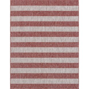 Holt Red/Gray Indoor/Outdoor Area Rug