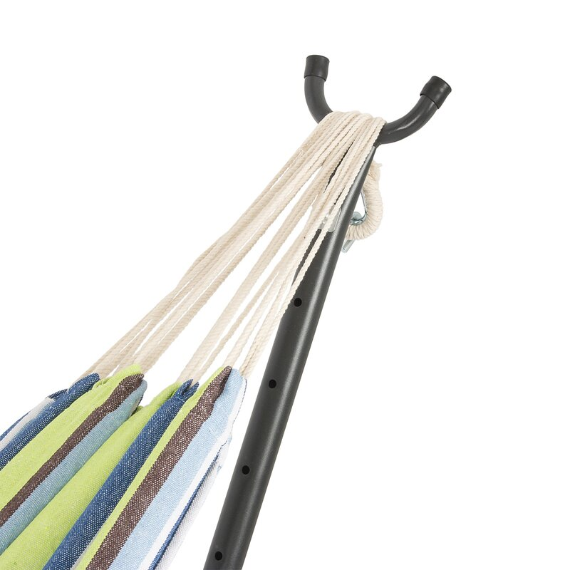 nina cotton hammock with stand freeport park nina cotton hammock with stand  u0026 reviews   wayfair  rh   wayfair