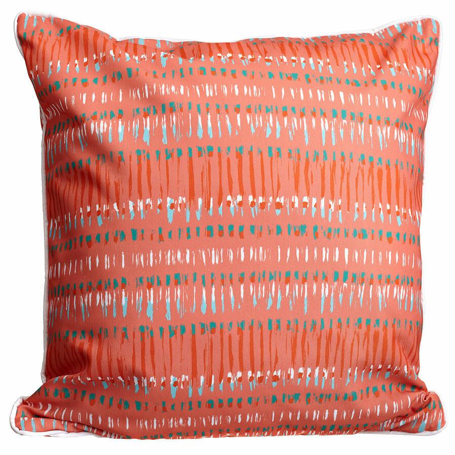 Ebern Designs Carsten Tribal Coral Throw Pillow & Reviews | Wayfair