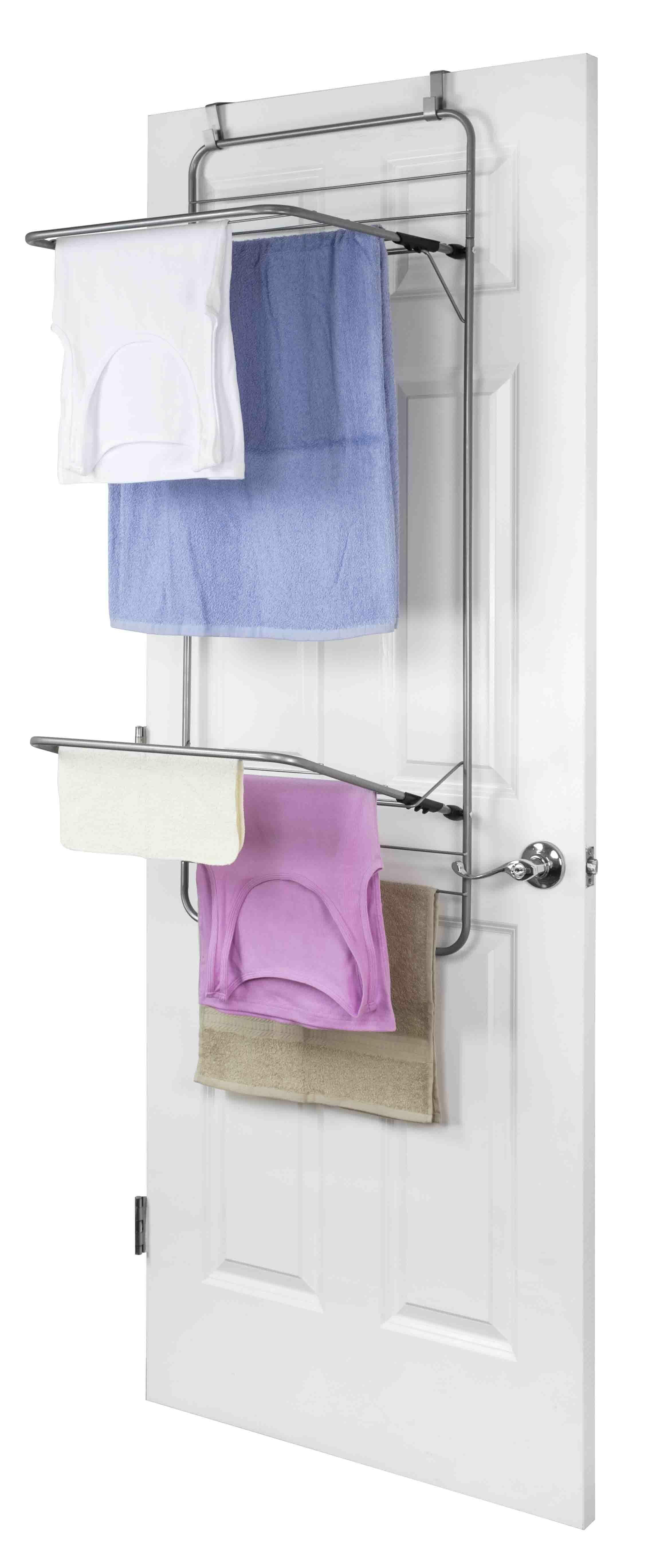 Porte Serviette À Suspendre porte-serviettes suspendu au-dessus de la porte