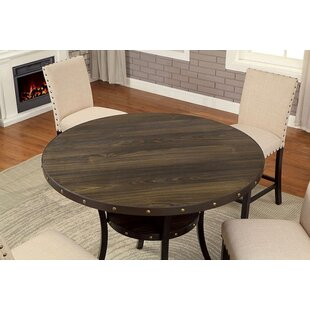Coupon Rigby Round Counter Height Dining Table By Alcott Hill