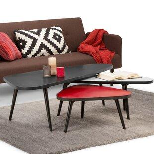 Corrigan Studio Alejo Coffee Table Set (Set of 3)