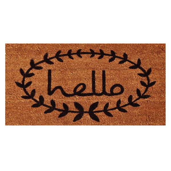 Non-slip Welcome Floor Rug Entrance Door Mat Indoor Outdoor Bedroom Carpet Print floor mats Home, Furniture & DIY