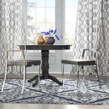 Athol Upholstered Side Chair in Clear/Gray (Set of 2) by Orren Ellis