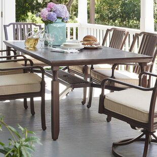 Bade Metal Dining Table