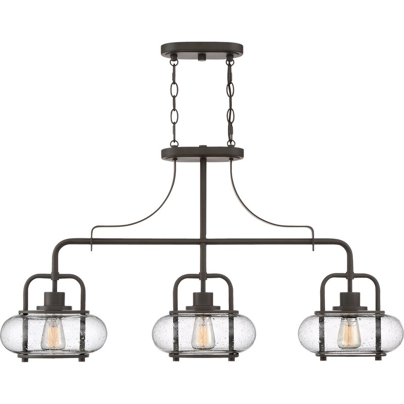 3 light kitchen island pendant industrial braxton 3light kitchen island pendant joss main