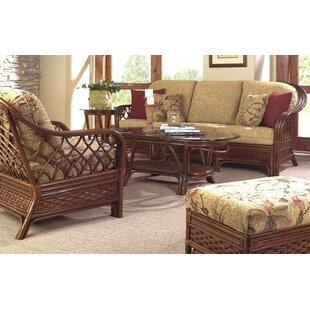 Boca Rattan Coco Cay Deep Sunbrella Seating Group with Cushions
