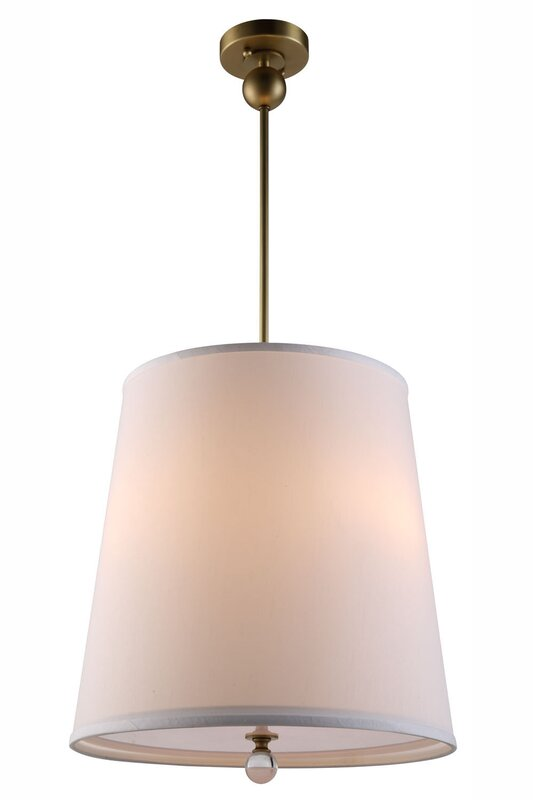 Vicenta 3 Light Drum Pendant