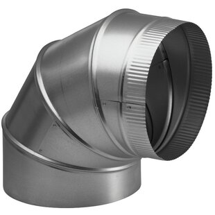 Range Hoods Round Elbow Duct Accessory