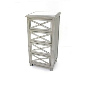 Carpio 4 Drawer Accent Chest by House of Hampton