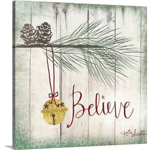 'Bells' Graphic Art on Wrapped Canvas