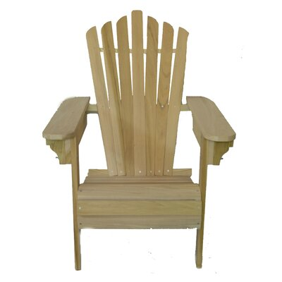 Solid Wood Adirondack Chair BeechamSwings