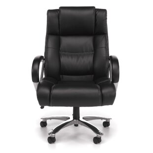 OFM Avenger Series High-Back Leather Executive Chair