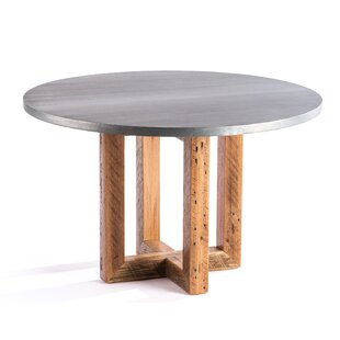 Gracie Oaks Schulze Solid Wood Dining Table