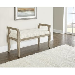 Barclay Wood Bench by Highland Dunes Purchase