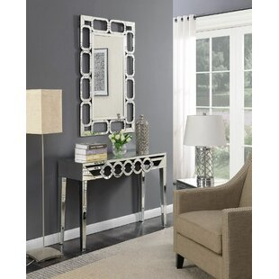Badgley Console Table And Mirror Set By Canora Grey