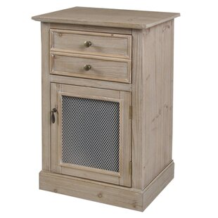 Hardeman 2 Drawer Accent Cabinet by August Grove