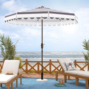 Lambeth 8.5' Drape Umbrella by Beachcrest Home