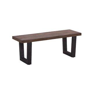 Odegaard Wood Bench by Brayden Studio