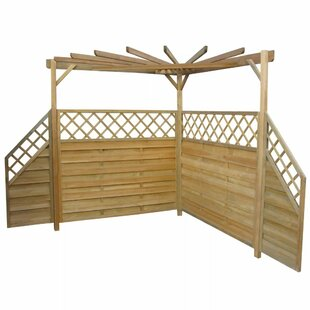 Bousquet 2.25m X 2.56m X 2.56m Wood Pergola By Sol 72 Outdoor
