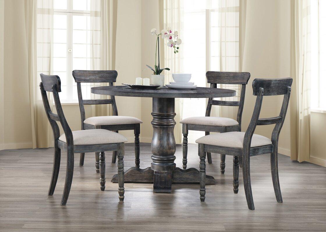 5 Piece Dining Sets bestmasterfurniture selena 5 piece dining set & reviews | wayfair