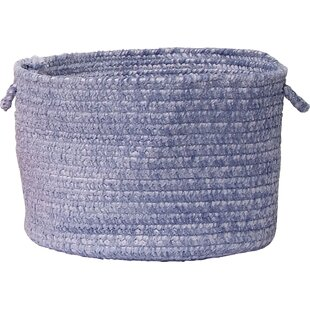 Best Price Spring Meadow Utility Fabric Basket By Colonial Mills