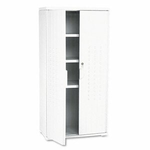 OfficeWorks 2 Door Storage Cabinet