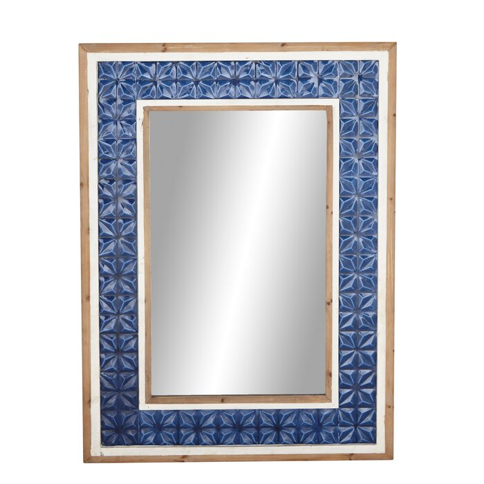 Glaude Modern Rectangular Full Length Mirror