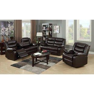 Moorhouse 3 Piece Reclining Living Room S..