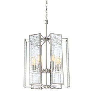 Designers Fountain Pivot 6-Light Square/Rectangle Chandelier