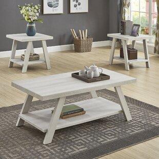 Cream Coffee Table Set Wayfair