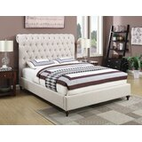 Calders Chesterfield Upholstered Sleigh Bed by Gracie Oaks