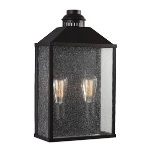 Compare Decory 2-Light Outdoor Flush Mount By Gracie Oaks