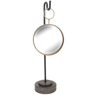 Metal Round Freestanding Mirror ByIvy Bronx